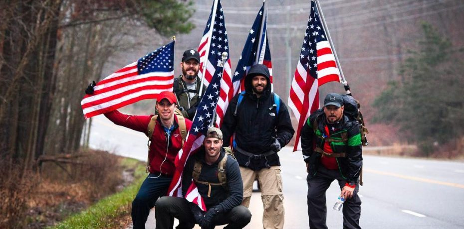 Freedom Ruck participants